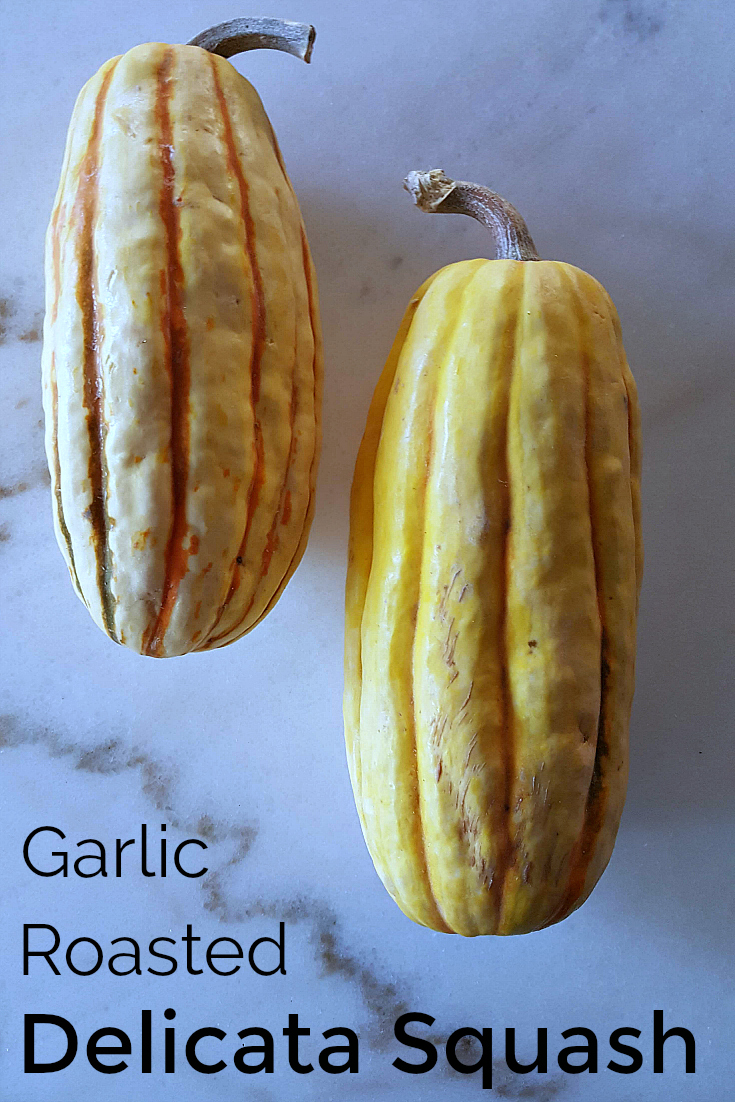 pin garlic roasted delicata squash recipe