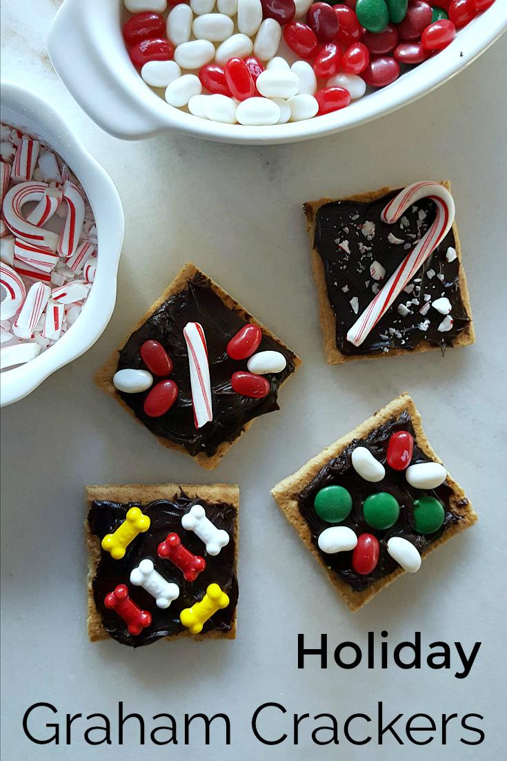 Holiday Graham Crackers - Easy No Bake Dessert