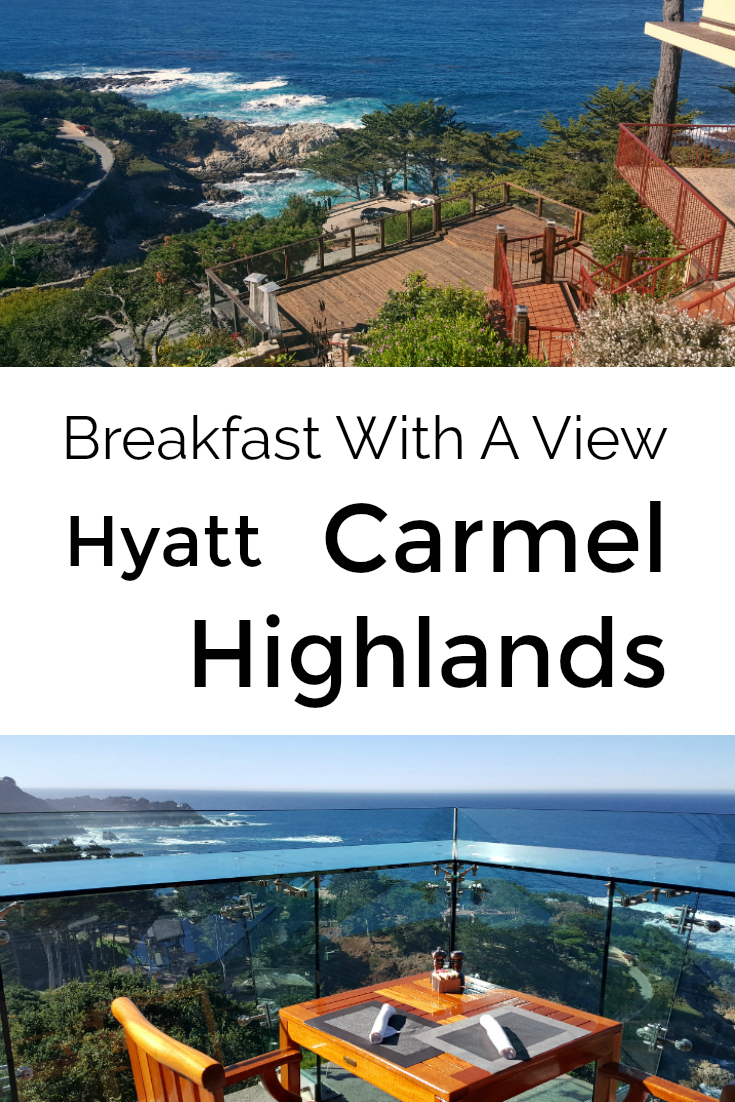Big Sur Coast Dining at Hyatt Carmel Highlands - Oceanview Hotel Breakfast