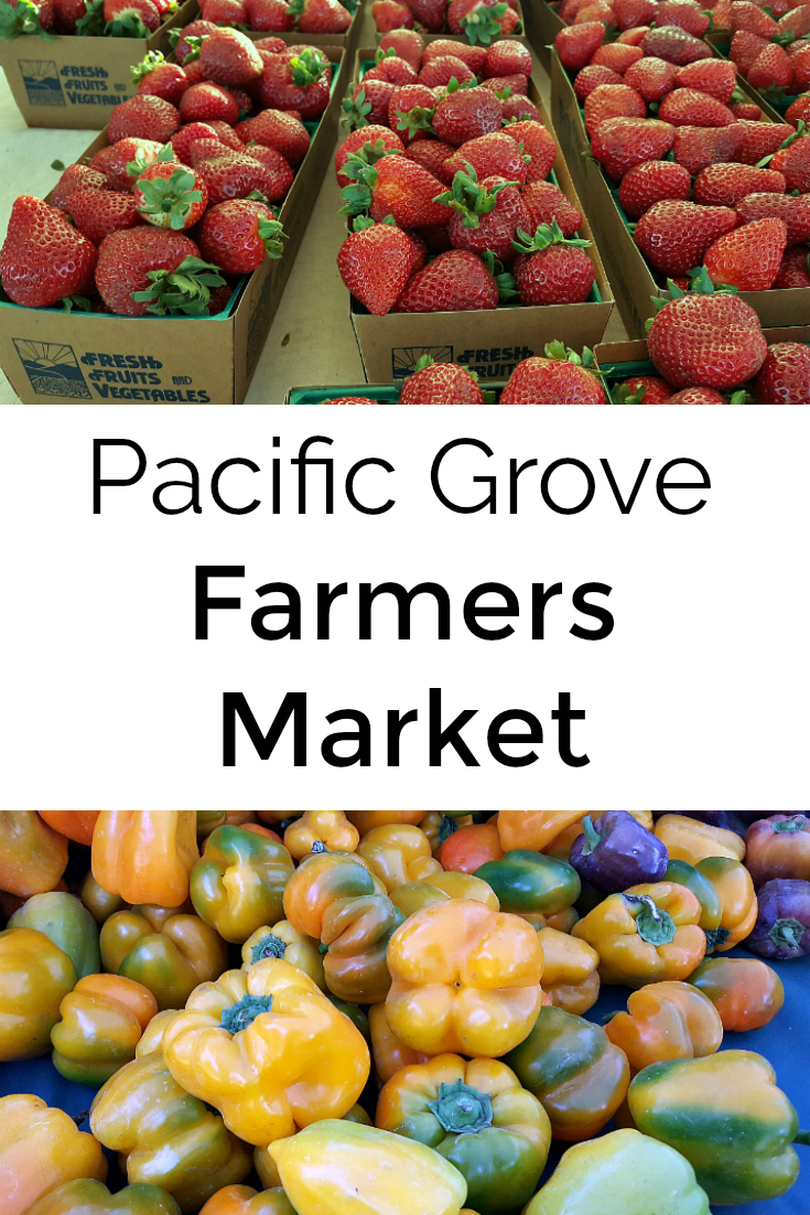 Everyone's Harvest Farmers Market in Pacific Grove California - Monterey County