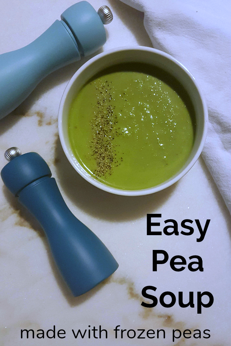 pin easy pea soup
