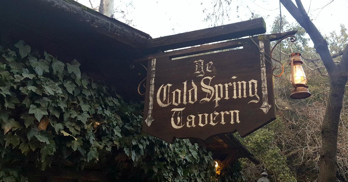 cold spring tavern sign