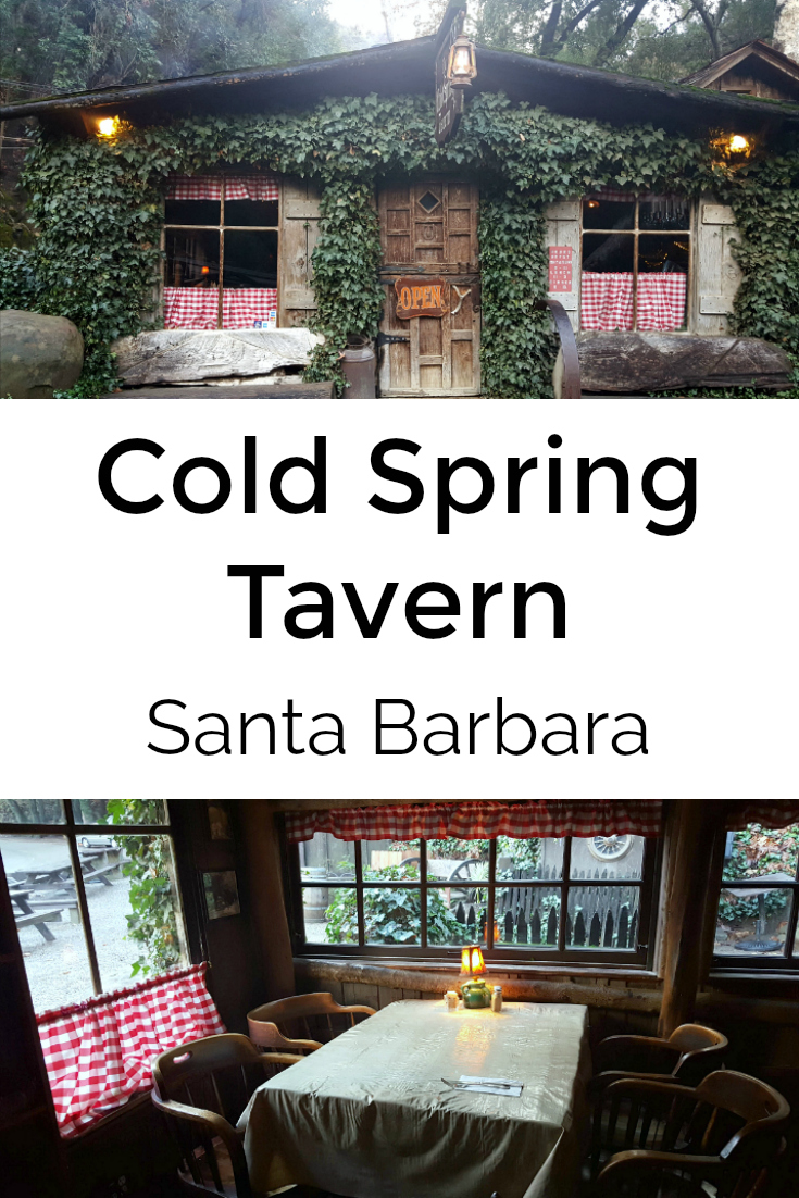 Cold Spring Tavern Old West Watering Hole in The Mountains Above Santa Barbara, California
