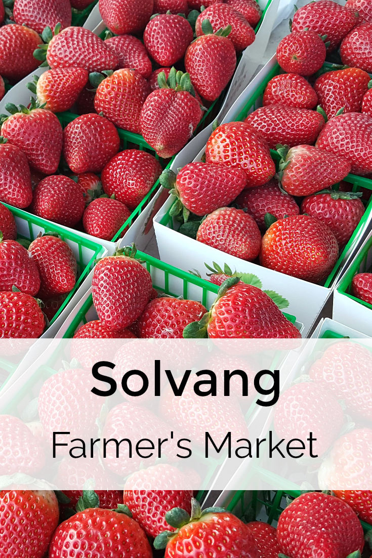 Solvang Farmers Market in The Santa Ynez Valley - California Grown Fruit and Vegetables