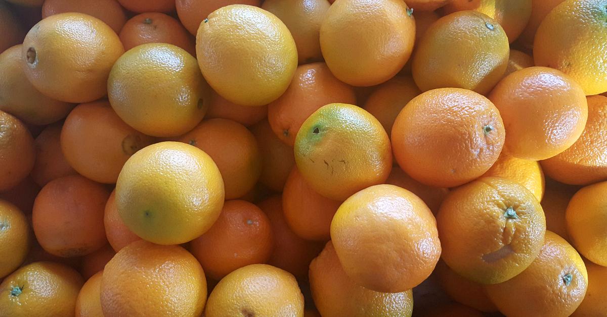 santiagos fruit stand oranges