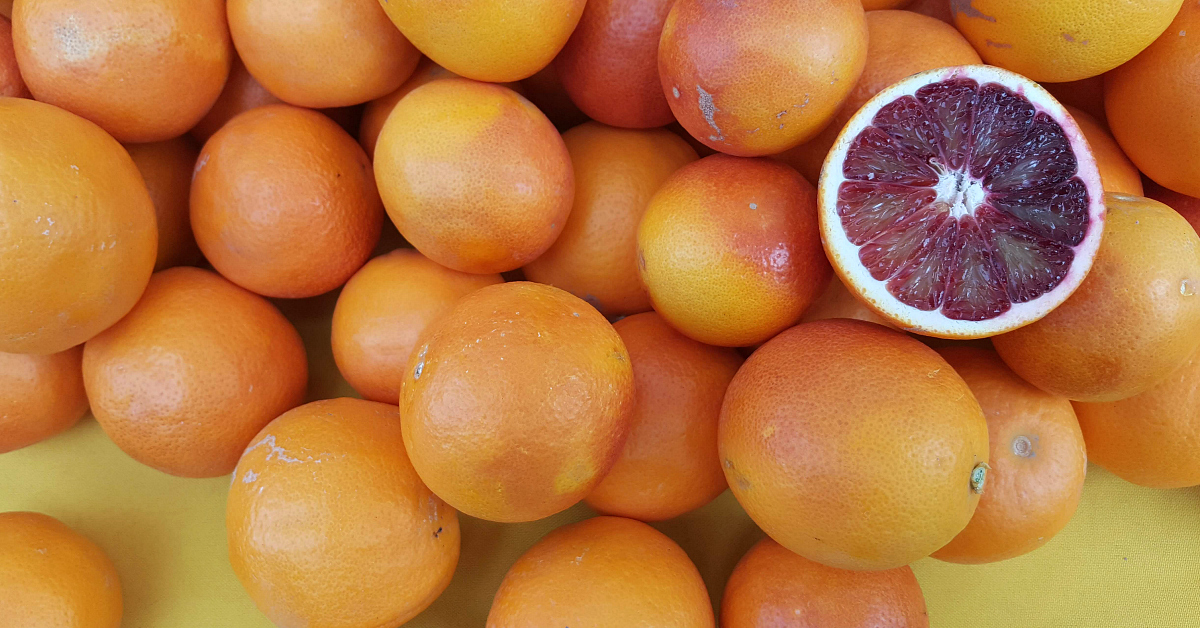solvang farmers market blood orange