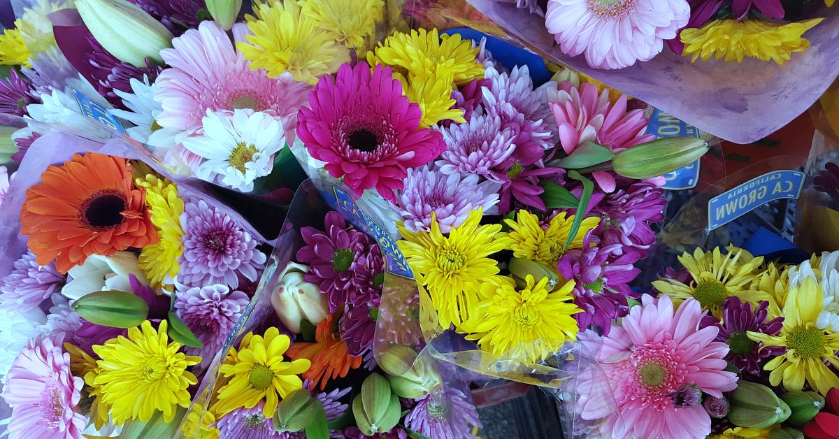 solvang farmers market flowers