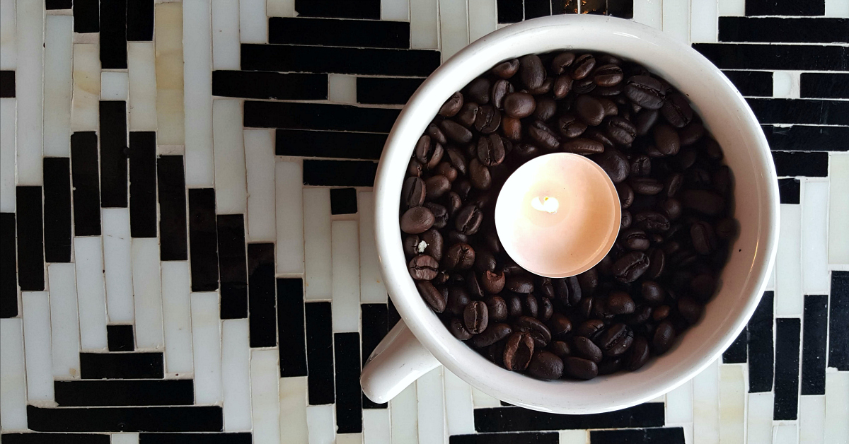 the coffeehouse solvang candle