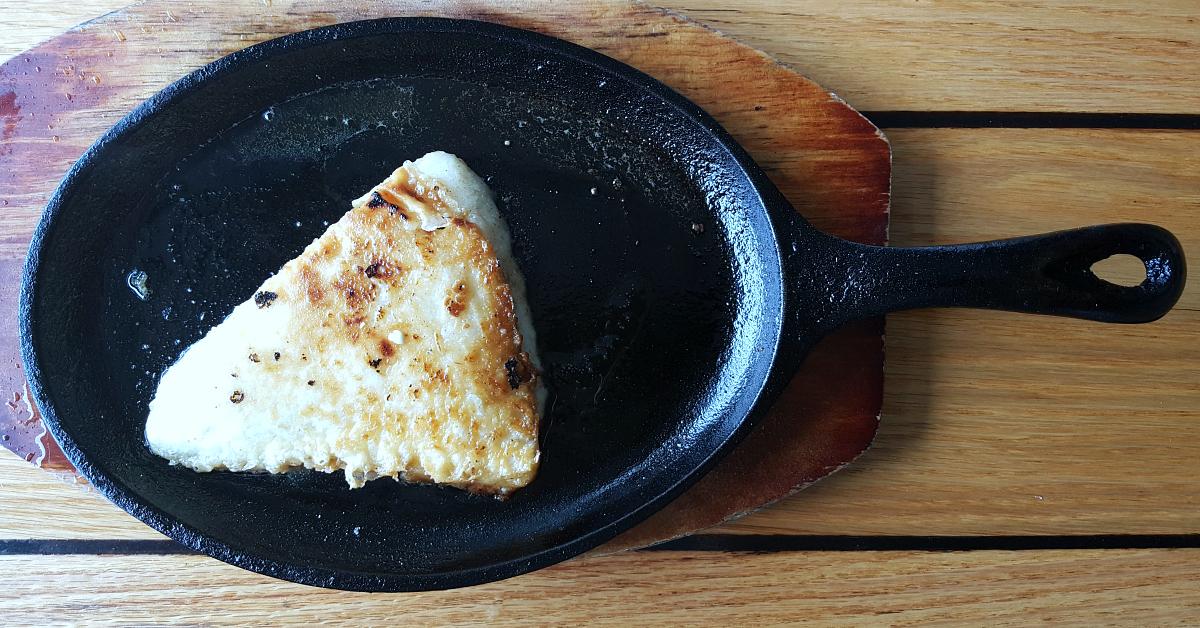 the greek ventura flamed cheese