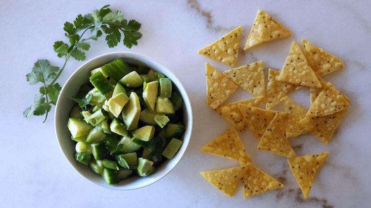 feature cucumber avocado salsa recipe