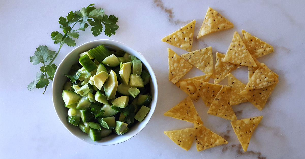 feature cucumber avocado salsa recipe