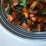 Easy Sweet Potato Spinach Side Dish Recipe