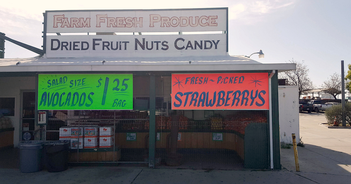 beaumont fruit stand