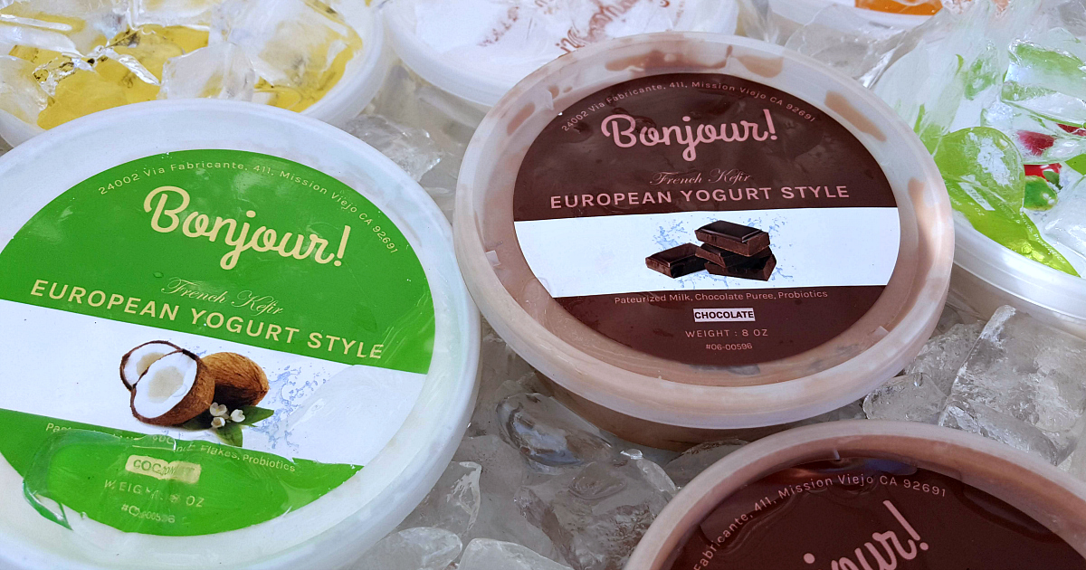 farmers market european yogurt