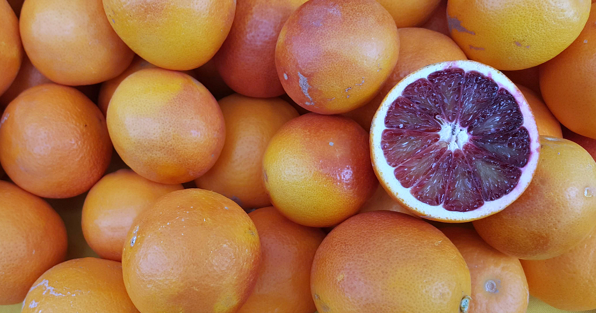 feature blood orange recipes