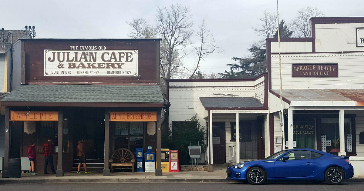 old julian cafe and bakery