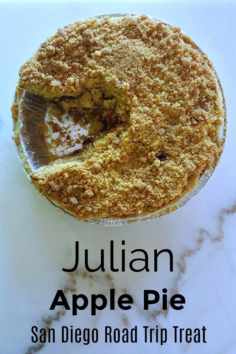 Julian Apple Pie To Go From Julian Cafe in San Diego County