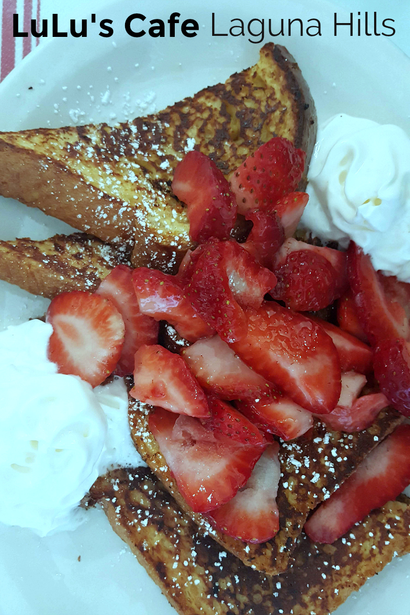 LuLu's Cafe for Breakfast - French Restaurant in Laguna Hills - South Orange County, California