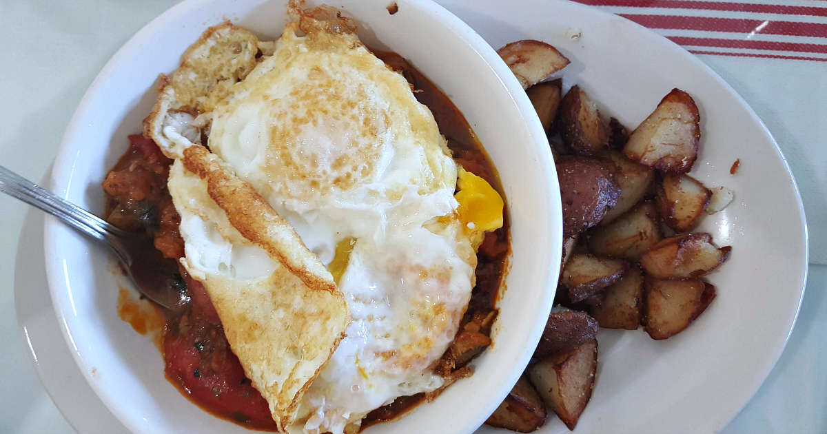 french ratatouille egg breakfast