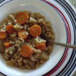 Slow Cooker Vegan Barley Stew Recipe
