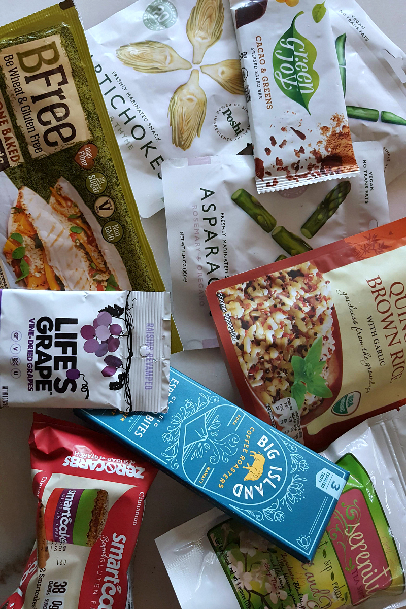 Summer Food Haul from (ad) The New Hope Blogger Box - gluten-free, vegan, USDA Organic, Keto, and Non-GMO Project Verified