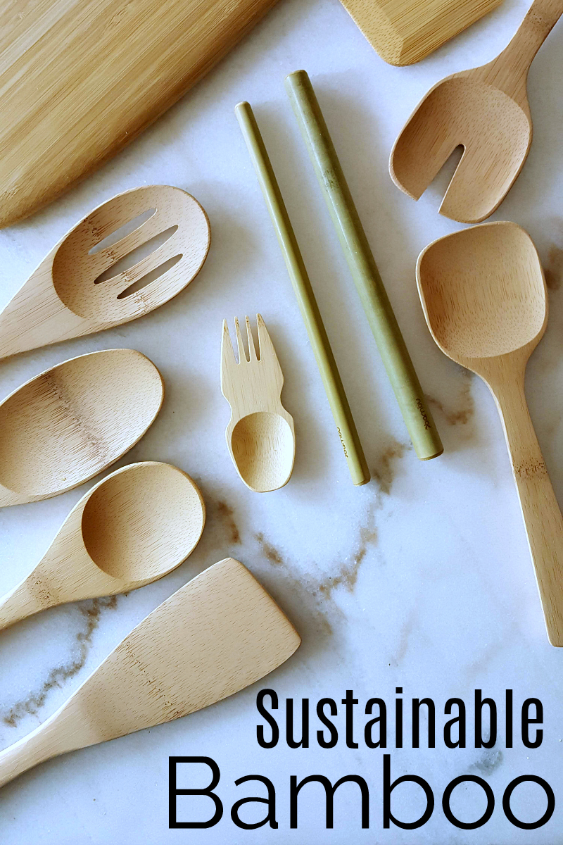 pin sustainable bamboo for your kitchen