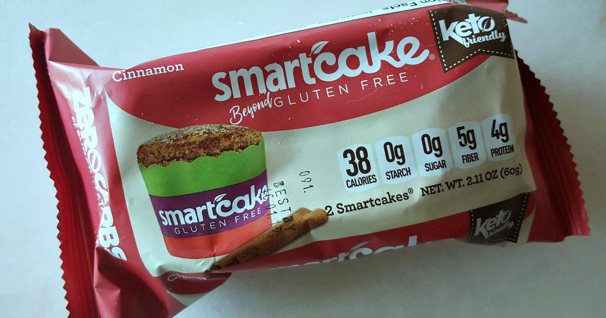 smartcake cinnamon keto gluten free