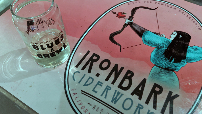 tasting iron bark cider works