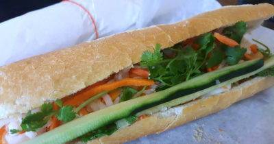vegetarian banh mi thh sandwiches