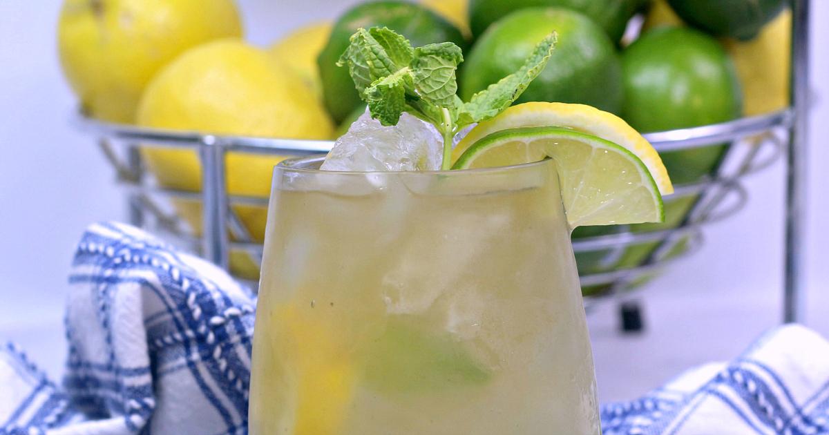 Jamaican adult Lemonade close up