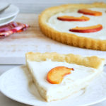Peach Cookie Crust Tart Recipe