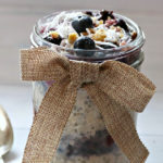 Layered Berry Overnight Oats Recipe