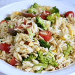 Vegan Orzo Potluck Salad Recipe