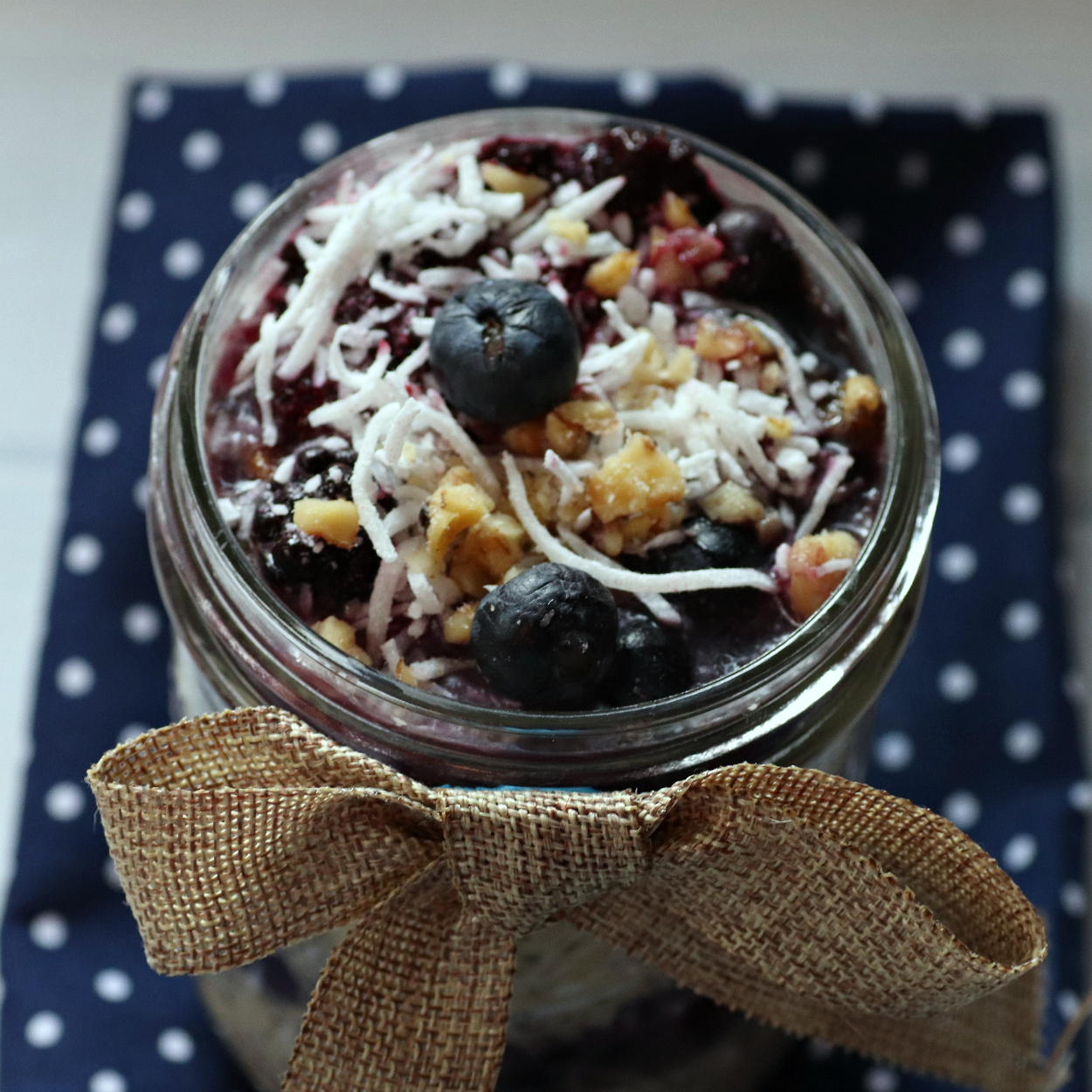insta mason jar overnight oats
