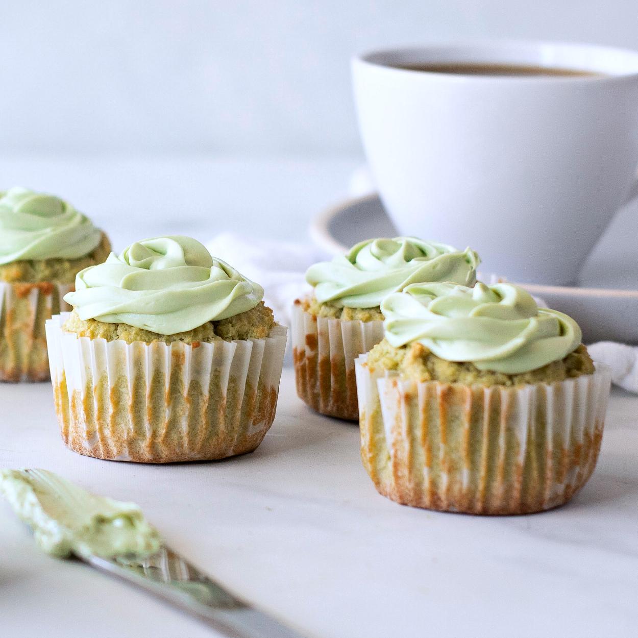 matcha cupcakes keto