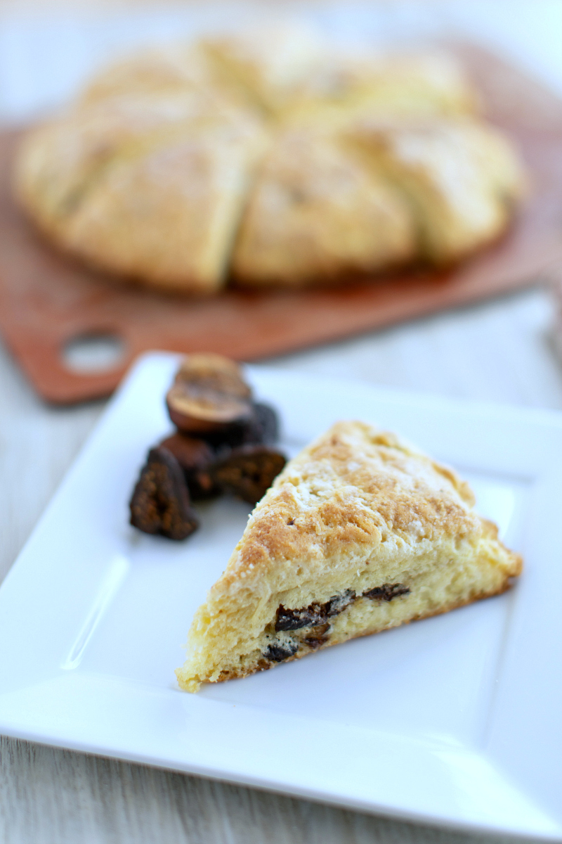 no text pin cast iron skillet fig scones