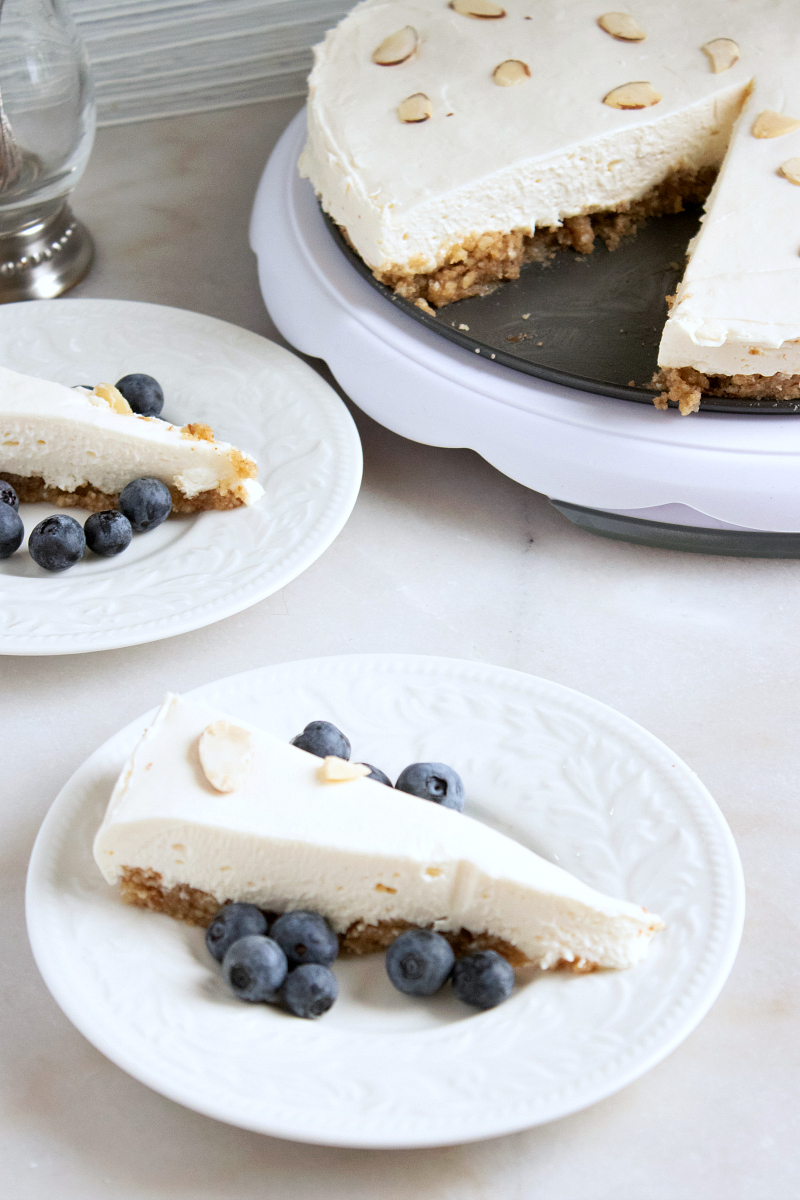 no text pin slices and cheesecake