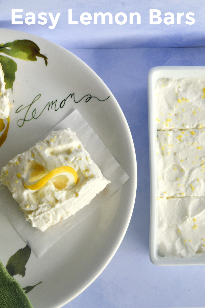 Lemon Bar Recipe with a Cookie Dough Crust