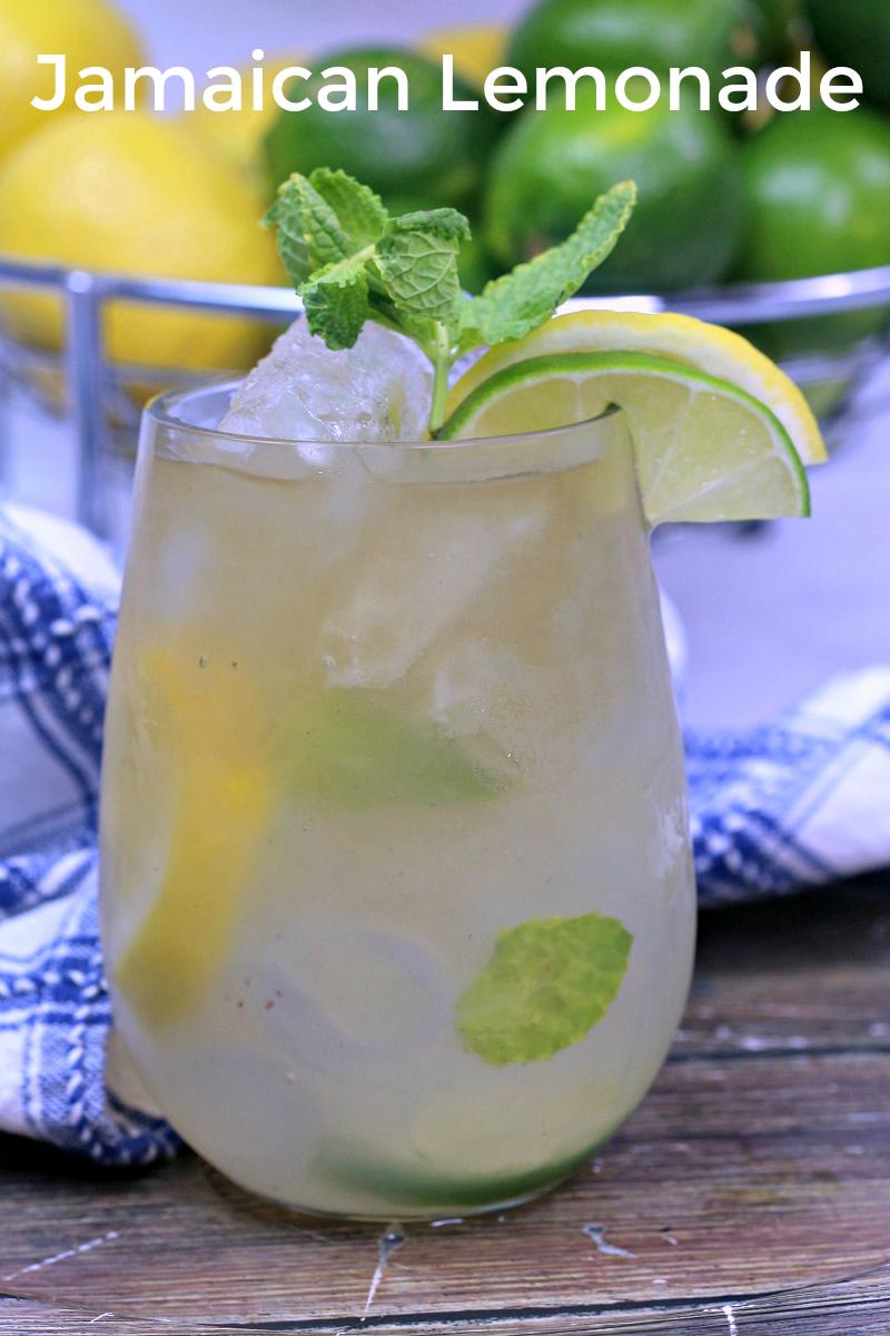 pin jamaican adult lemonade