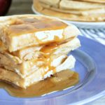Applesauce Belgian Waffles Recipe
