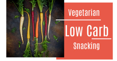 carrots vegetarian low carb snacking
