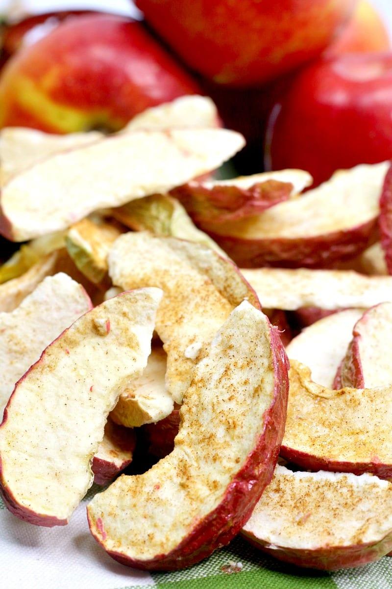 Air Fryer Cinnamon Apples Recipe #AirFryer #AirFryerRecipe #apples