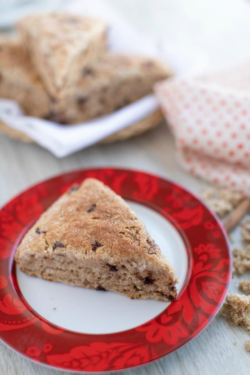 Cast Iron Skillet Cinnamon Scones Recipe #scones #castiron #brunch #breakfast