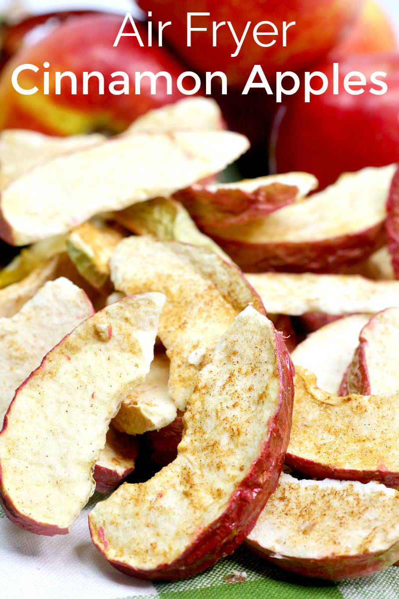 pin air fryer cinnamon apples