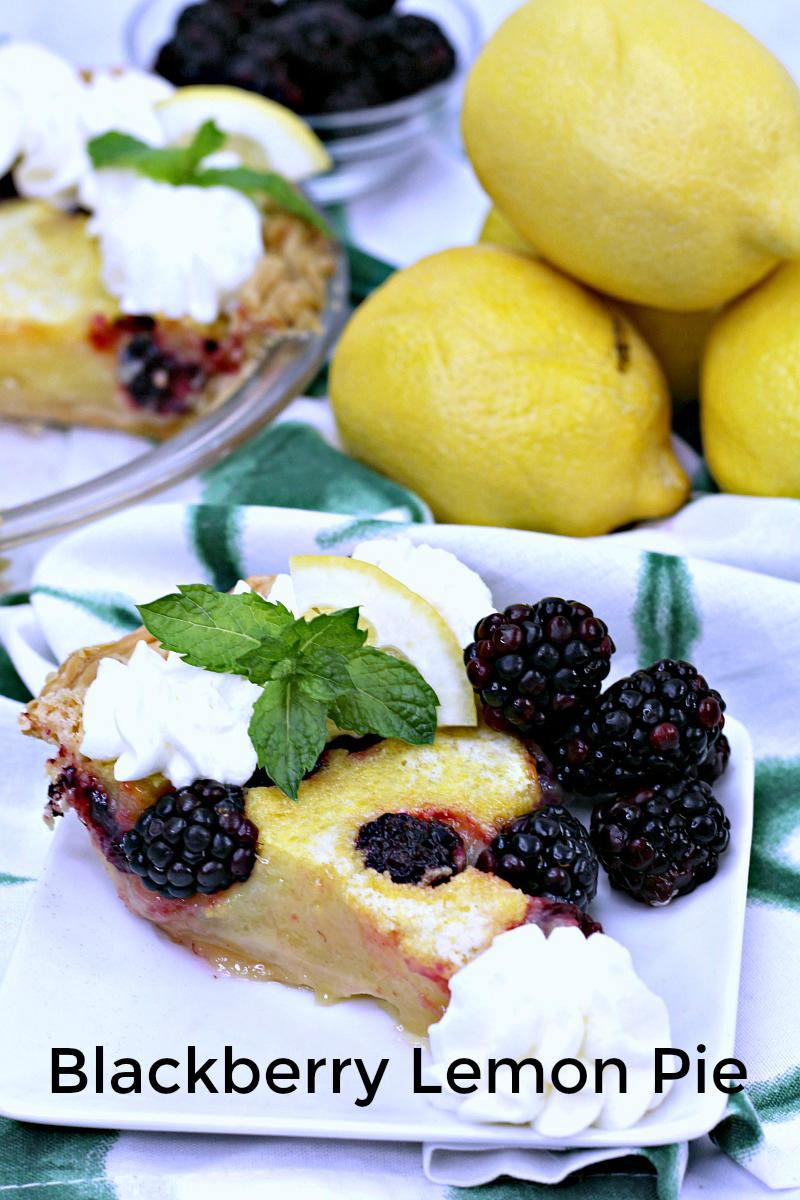 pin lemon blackberry chess pie