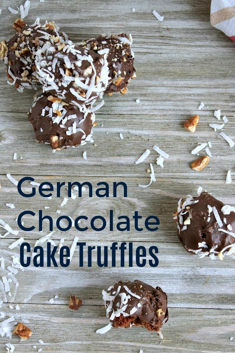 German Chocolate Cake Truffles Recipe #truffles #caketruffles #recipe #germanchocolate #germanchocolaterecipes #chocolatecake #chocolatetruffles #partyfood #trufflesrecipe