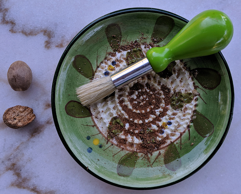 whole nutmeg grater plate