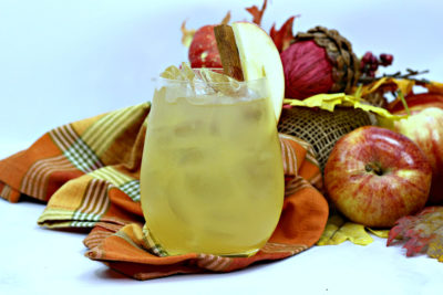 fall cocktail maple cider