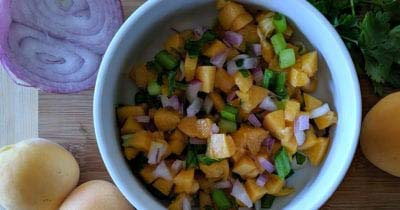 feature apricot salsa