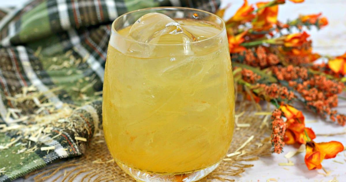 feature bourbon pecan cocktail